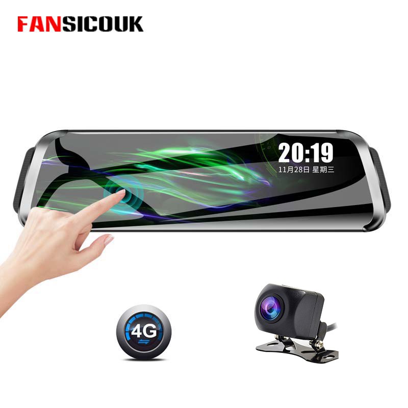 10 inch Touch Screen <font><b>Car</b></font> <font><b>Dvr</b></font> 4G ADAS Dash Cam <font><b>Mirror</b></font> <font><b>Recorder</b></font> <font><b>GPS</b></font> Navigation 1080P <font><b>Dvr</b></font> Dash Camera With Rearview <font><b>Mirror</b></font> 787 image