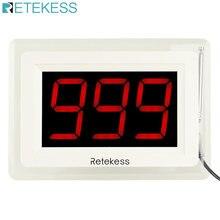 Беспроводной приемник для вызова retekess t114 система пейджера
