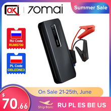 2020 Hot Sell 70mai Jump Starter Max 18000mah 1000A Power Bank Car 8.0L  Charger 12V Auto Buster Car Emergency Booster