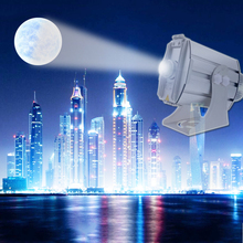 LDLG New Arrival 2019 Gobo Projector Outdoor 8 Rotary Images Waterproof Led Light for Animation for Shops Marketing y publicid цена 2017