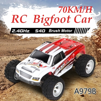 RC Car WLtoys A979 1/18 4WD Racing Car Remote Control Off Road Race Car 2.4GHz Remote Radio-controlled High Speed Truck Buggy