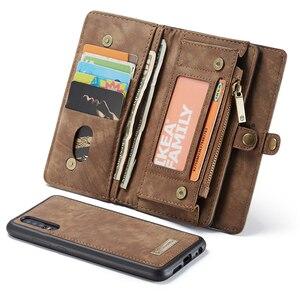 Image 4 - Luxe Lederen Tas Case Voor Huawei P30 Pro P20 Lite Flip Wallet Cover Magnetische Telefoon Tas Gevallen Voor Huawei mate 20 Pro