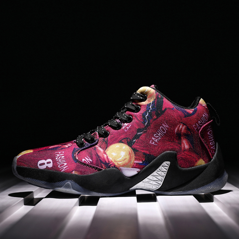 Boots Basketball-Shoes Athletic-Sneakers Official Authentic Original Fitness Sport High-Zoom
