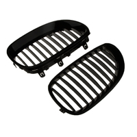 1 Pair ABS Plastic Grill Mesh Engine Vent For BMW E60 E61 M5 03 09