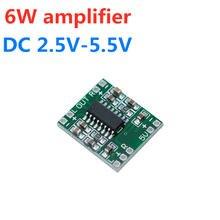 Двухканальный цифровой усилитель мощностью 6 Вт 2x3 4 Ом