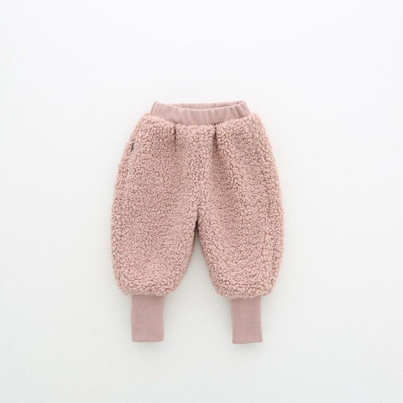 COOTELILI Winter Fleece Baby Girls Pants Trousers Baby Boys Pants warm Leggings Trousers For Girl Kids Girls Velvet Pants  (6)