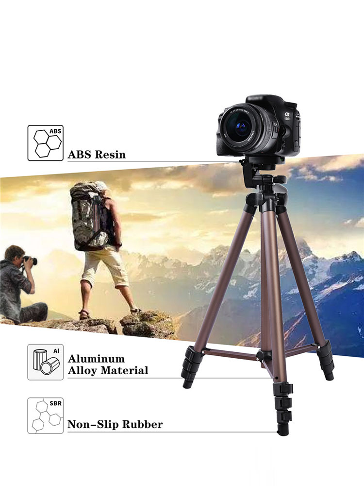 Camera Belt Strap Small Lightweight Tabletop Camera Tripod Phone Stand Holder Portable Desktop Compact Pocket Mini Tripod for Phone DSLR Camera Durable Color : MS16