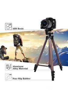 Fosoto Mini Camera Tripod-Stand Camcorder Phone-Holder DSLR Nikon Aluminum-Alloy Sony