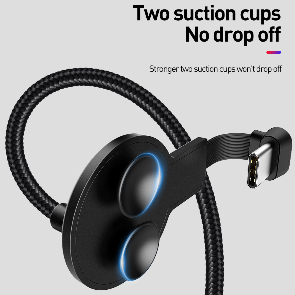 Mcdodo USB Type C Elbow Design for Game Cable QC4.0 Fast Charging LED Cable for Samsung Xiaomi Huawei USB C Phone Charger Cable Mobile Phone Accessories Mobile Phone Cables Smartphones