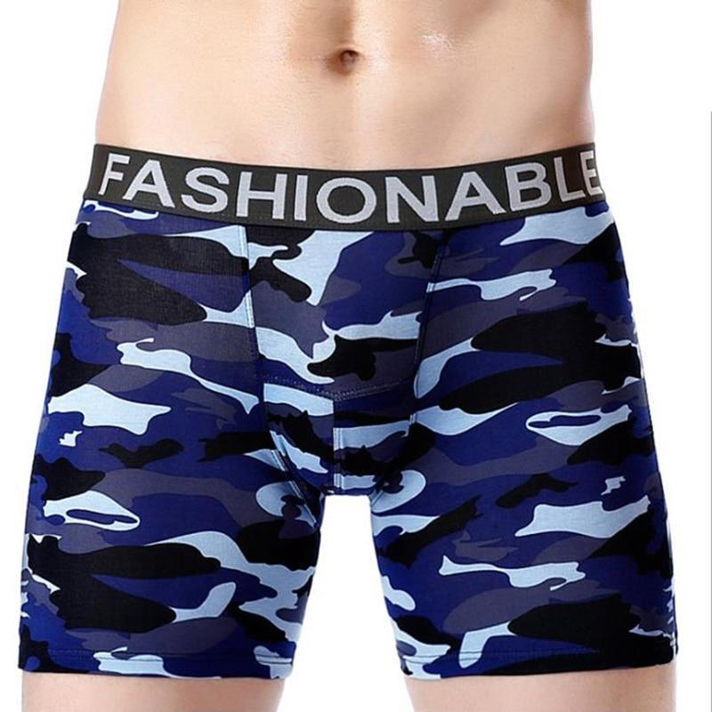 Cotton Underwear Men Boxer Shorts Long Boxer Men Sexy Cueca Boxer Underwear Male Boxer Mens Underwear Trunks Shorts