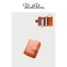 FELIX&FELICIA Brand PU leather small wallet for women 2019 ladies hot sale short zipper purse money bags coin phone pocket clutc