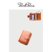 FELIX&FELICIA wallet PU leather small wallet women 2019 ladies hot sale short zipper purse money bags coin phone pocket clutc