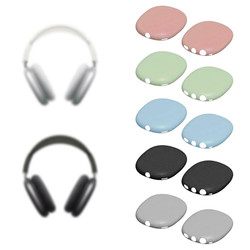 1 Pair Headphone Silicone Protective Earphone Part for AirPods Max Protective Ear Covers Shell High Quality Fashionable Shell
