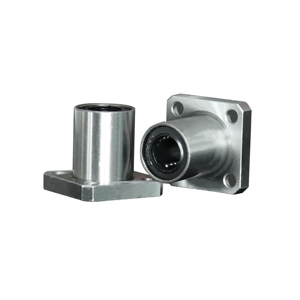 LMK8UU Linear Ball Bearings 8mmx15mmx24mm Carbon Steel for CNC Machine 3D Printer
