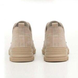 Image 4 - 2019 אופנה גבר נעלי בטיחות הבוהן פלדה קיץ לנשימה קל לרסק הוכחת דקירה בטוח רתך עבודה בטיחות אתחול עבודה נעליים