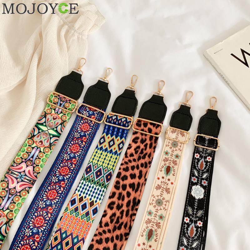 Nylon Colored Women Bag Strap For Crossbody Adjustable Bag Accessories Handle Shoulder Hanger Handbag Straps For Bags Belt