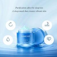 Korea Cosmetic Sleeping Mask All Night Hydrating Sleep Mask Wash Free Repair Purifies skin 70ml/15ml 2
