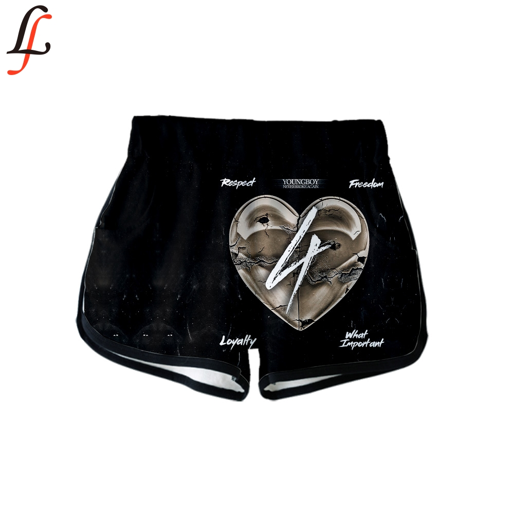 YoungBoy New 3D Clothes Casual 3D Print Women Summer Sexy Shorts 2019 Kawaii Casual Ladies Hot Top Sale Shorts Plus Size XXL