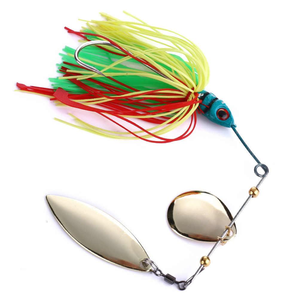 スピナー餌釣りルアー重量 17 グラムスピナーベイト金属 Isca 人工 Articulos デペスカ釣り餌釣りスピナー