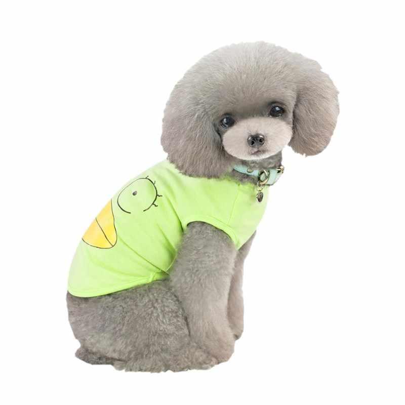 Huisdier Lente Zomer Hip Hop Vest Kostuum Mooie Eend Afdrukken Hondenkleding Grappige Kleding Hond Kleding Groothandel