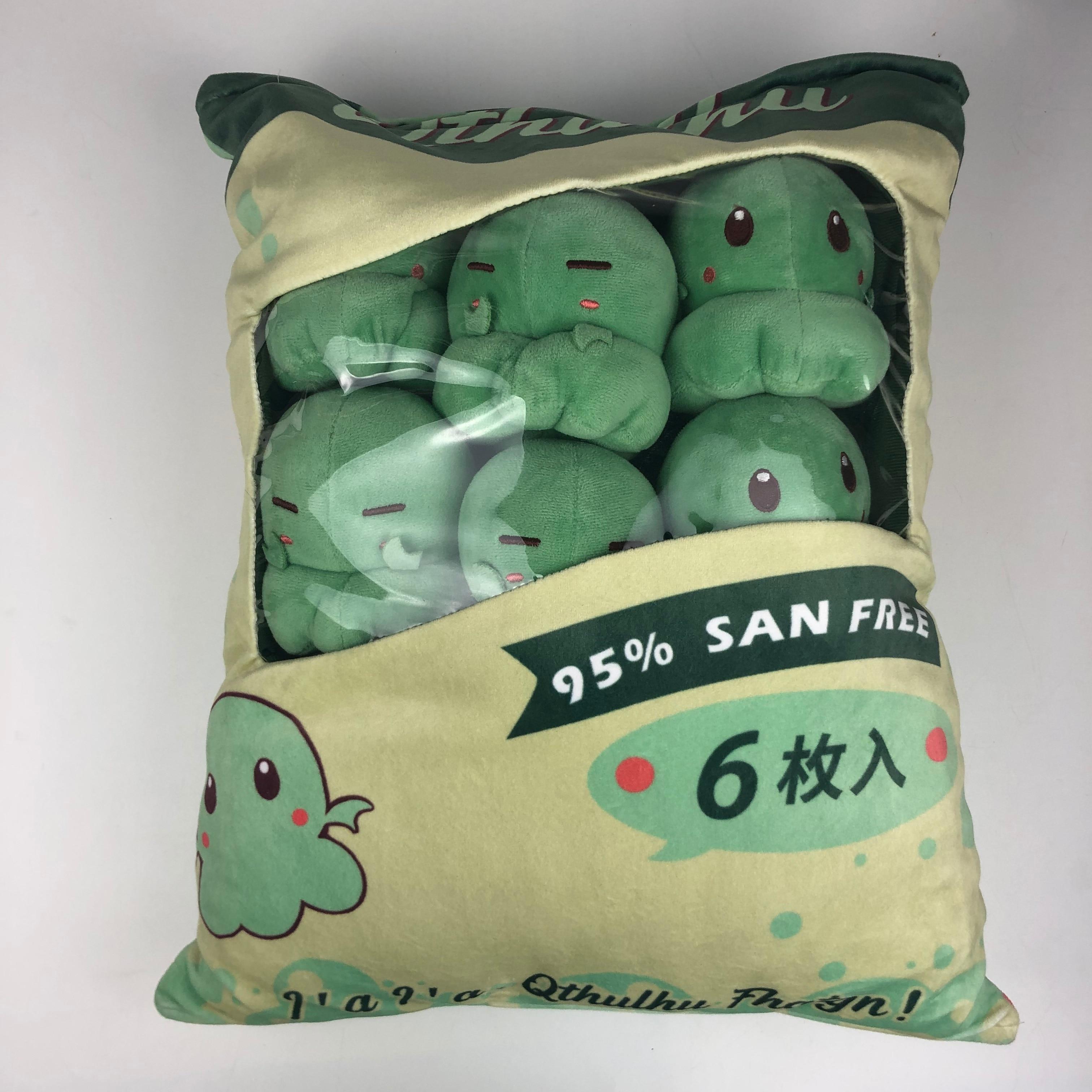 Cthulhu Mythos Cthulhu Soft Plush Doll Toys 6pcs Pillow Cushion Stuffed Cute N