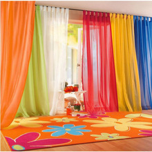1x2m Solid Color Terry Yarn Curtain  Home Hotel Bedroom Printing Modern Decorative Supplies