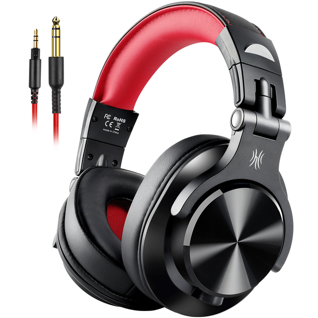 Oneodio A71 Original DJ Headphones Portable Wired Headset  with Music Share Lock  Stereo Headphone For Recording Monitor