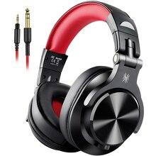 Oneodio A71 oryginalne słuchawki dla DJ przenośny przewodowy zestaw słuchawkowy z muzyką udostępnij blokady słuchawki Stereo do nagrywania monitora