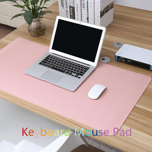 2020 New Double-sided Waterproof Desk Pad Protecter,Mouse Pad,PU Leather Mouse Keyboard Gaming Pad Desk Mat