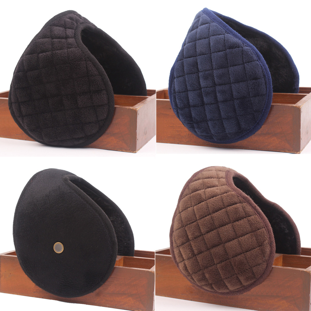 Men Winter Warm Earmuff Outdoor Windproof Ear Warmer Cover Ear Muff Earlap HATCS0430