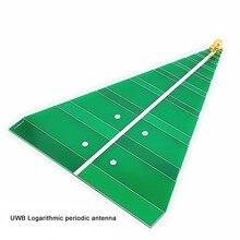 UWB Log периодическая антенна 740 6000 МГц ультра широкополосная логическая антенна 6 7 дБ