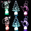 Christmas Home Decoration Colorful LED Lights tree Santa Claus Night light xmas navidad new year kids Gifts Lamp Christmas light
