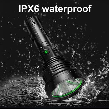 2021Newest XHP160 Most Powerful Led Flashlight Torch Light Rechargeable Tactical Flash Light 18650 Xhp90 Hunting