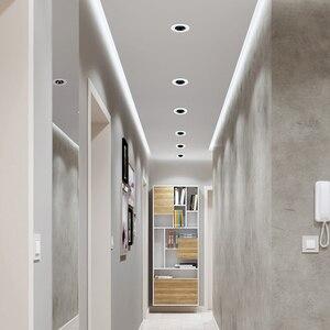 Image 5 - [DBF]2020 Neue Anti glare LED Embedded Decke Spot Licht 7W 12W Hohe CRI≥ 90 LED Einbau downlight für wohnzimmer Hause Gang