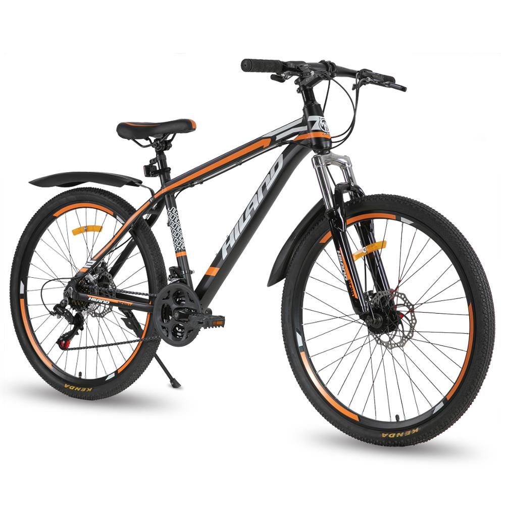 Moscow warehouse 21 Speed Mountain Bike Bicycle 26 inch steel frame aviliable MTB free shipping City bike bicycle road bike