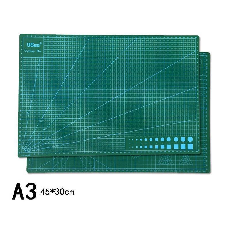 Pvc Cutting Mat A3 A4A5 Patchwork Mat Cutting Mat Patchwork Tool Manual Diy Tool Double-sided Self-healing Cutting Board 1 Piece