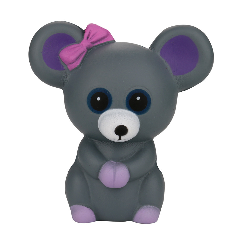 Squeeze Mouse  Slow Rising Toys Charm Gifts Creative Animal Doll Soft Squeeze Toy Unzip Anti-stress Gift Toys For Children #A
