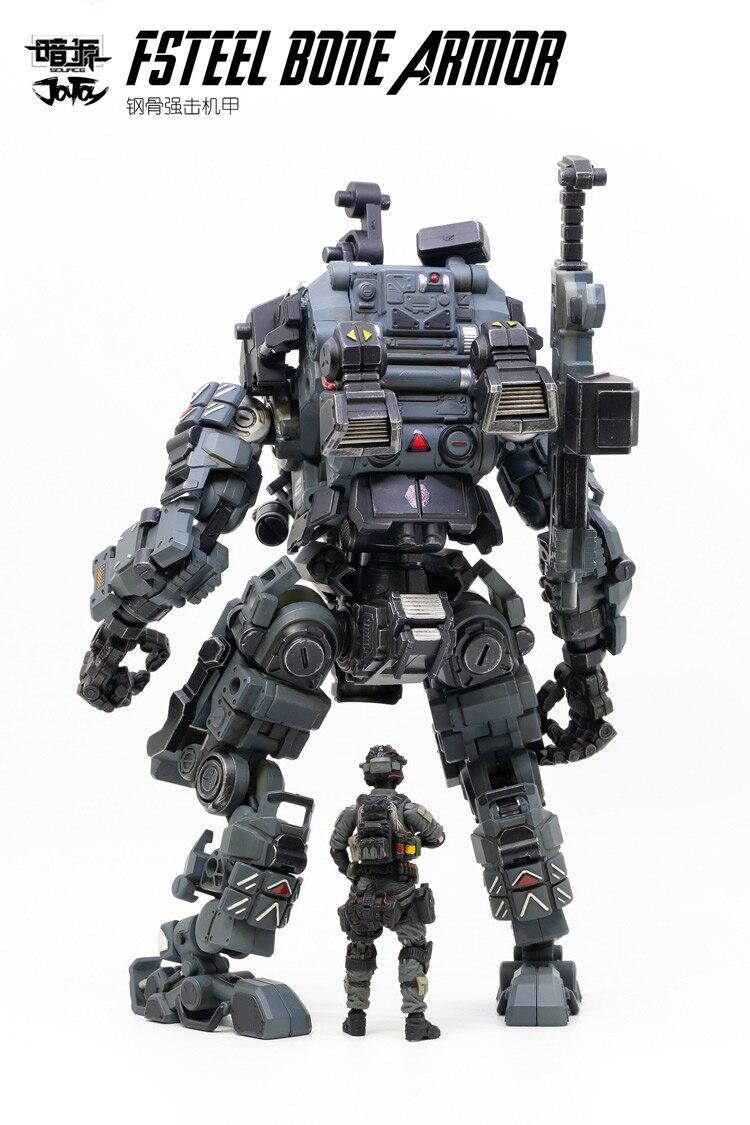 1/25 JOYTOY action figurine FSTEEL os armure méca et militaire soldat figure modèle jouets collection jouet cadeau de noël - 6