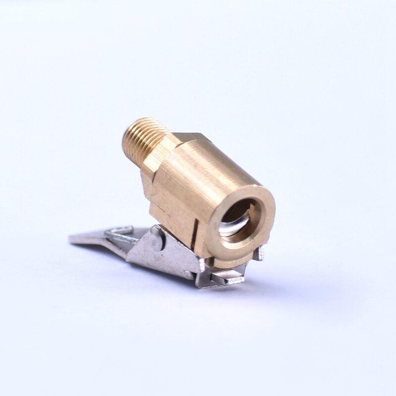 8mm Braçadeira de Fixação Da Válvula Da Bomba De Ar Do Pneu de Carro Inflador de pneus Válvula Conector do Adaptador de Válvula do Pneu Inflator Inflator Chuck llantas Ar chuck
