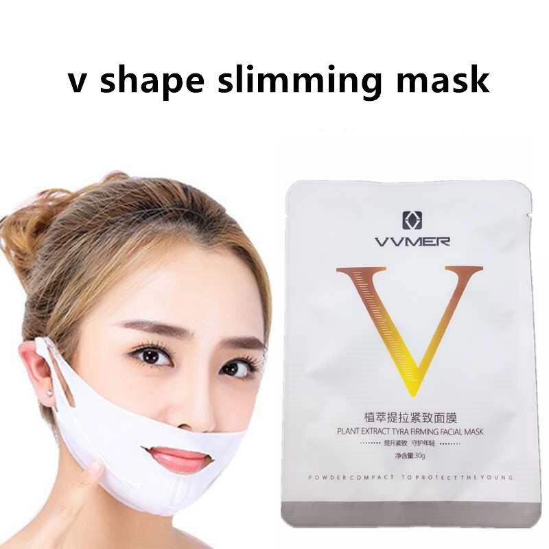 V-Shape Facial Slimming Lifting V-Line Mask Face Slim Chin Neck Skin Care Lift Peel-off Mask