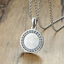 4 Qul ожерелье Мусульманский Исламский хадж Умра серебряный цвет CZ камень кулон мужские ювелирные изделия