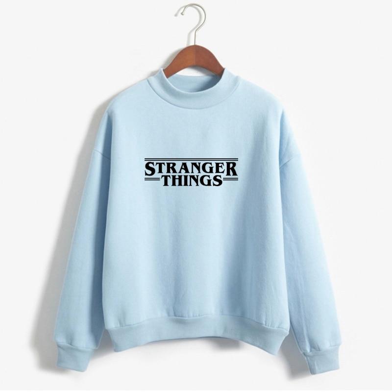 Stranger Things Official Television Series Men's Solid Logo Sweatshirt  Unisex STRANGER THINGS Hoodie - Stranger Things 31