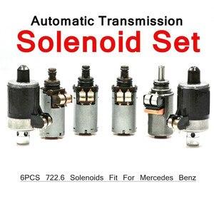 Image 2 - 6PCS 722,6 Übertragung Magnet Set Für Mercedes Benz 5 Geschwindigkeit Automatische Übertragung 5 Speed Auto Auto Magnet zubehör
