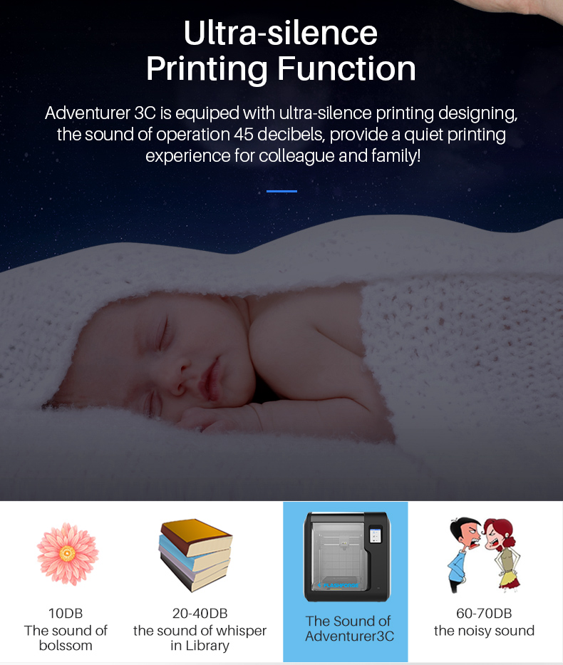 Hacd1245f8f204a4d91aa518deb1e4badQ Flashforge Adventurer 3 DIY 3D Printer