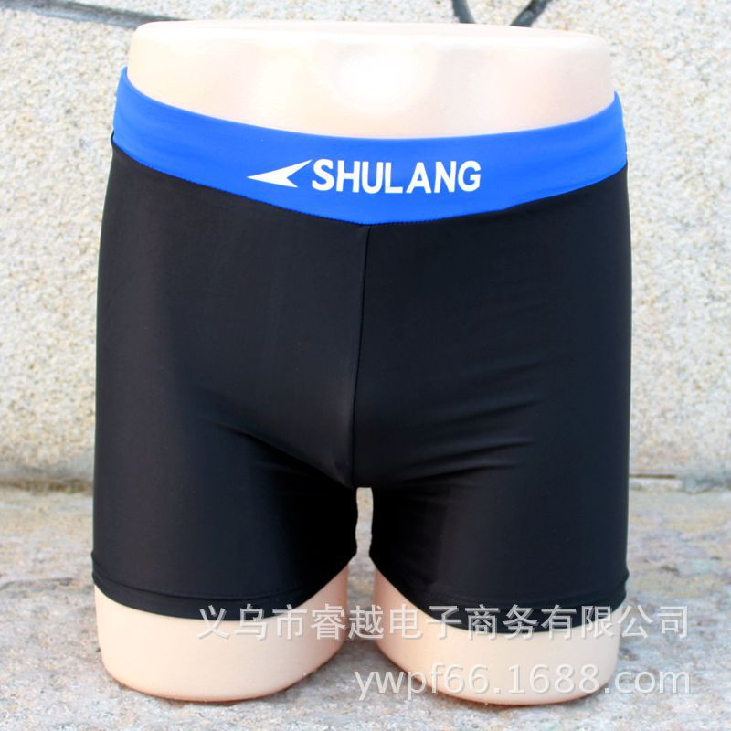2018 Madden New Style Adult Swimming Trunks Ultra-stretch MEN'S Swimming Trunks Chinlon Material