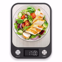 Multifunctional Electronic Kitchen Scale stainless steel balance Food Baking Scale Cooking Measure Tools10kg/1g