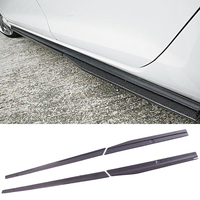 R A Style Carbon fiber Side skirts Fit For Golf7