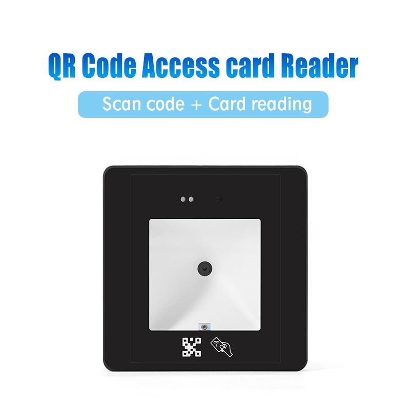 wiegand id cartao leitor qr codigo porta controle de acesso hm20 id