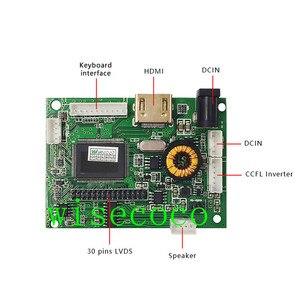 "Image 2 - Lcd lvds 스피커 컨트롤러 보드 2av 30pin lp097x02 slq1 slqe sln1 lcd 패널 지원 1024x768 9.7 ""드라이버 보드"