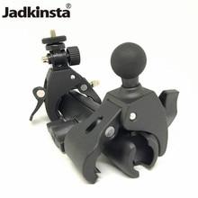 Per Gopro adattatore per treppiede per montaggio su manubrio per bici bicicletta moto morsetto per montaggio a sfera da 1 pollice per telefoni cellulari Gopro